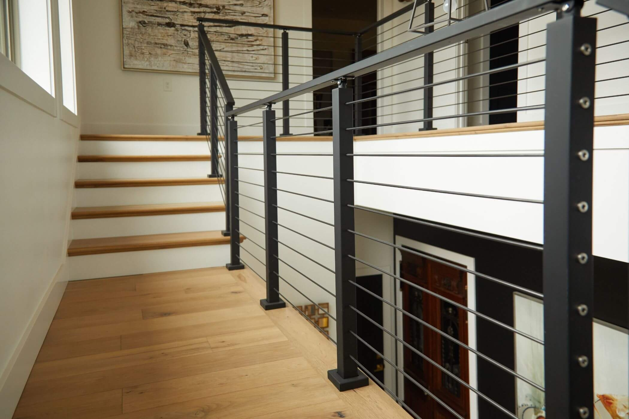 Stainless Steel Railing Rod Stair Railing Kits Posts Parts | Wooden Stair Railing Prices | Staircase Ideas | Deck Railing | Frameless Glass | Steel | Glass Stair