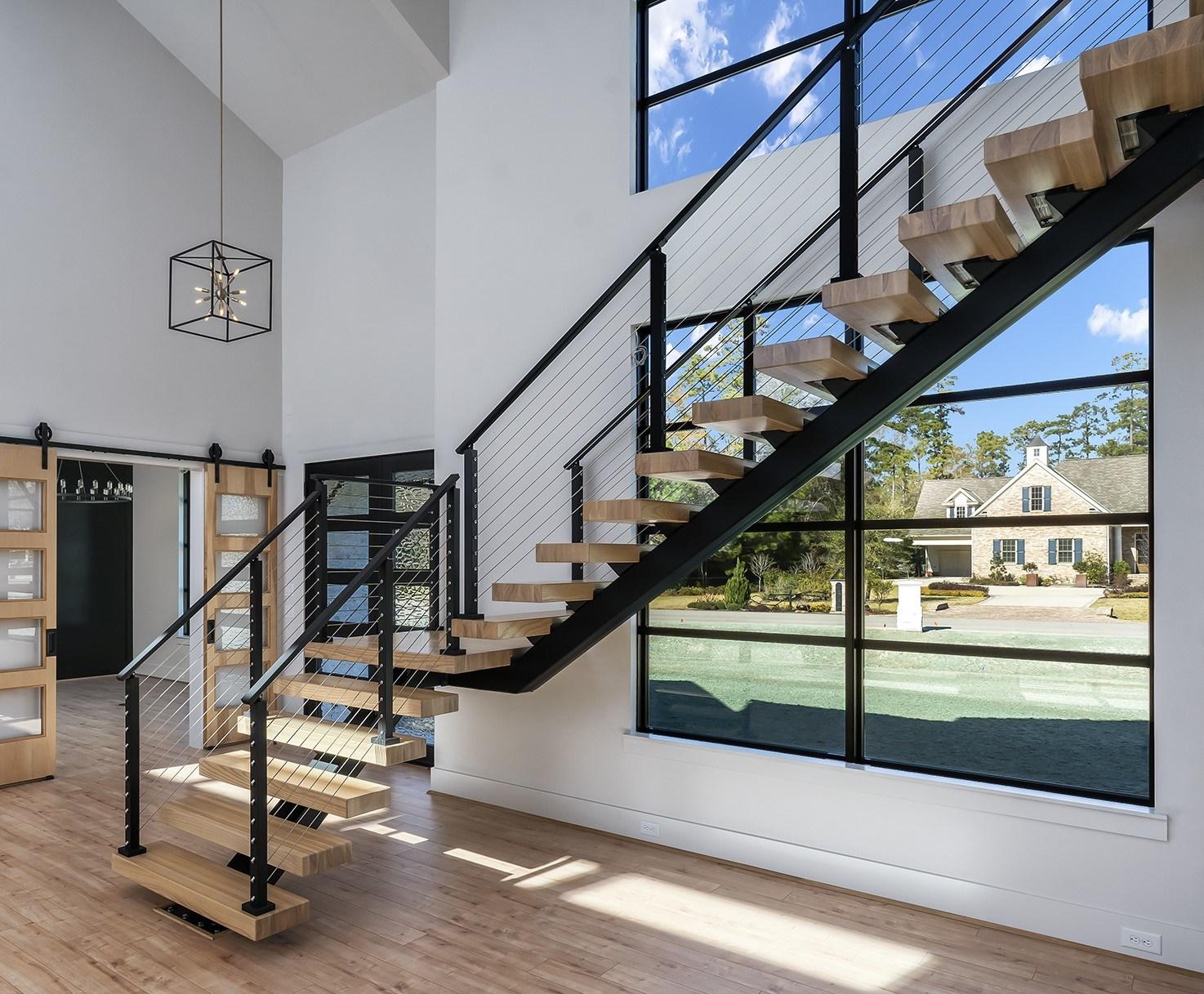 Steel Stairs Prefabricated Diy Metal Stairs Viewrail | Glass Stair Treads Cost | Floating | Steel | Handrail | Hardwood | Wood