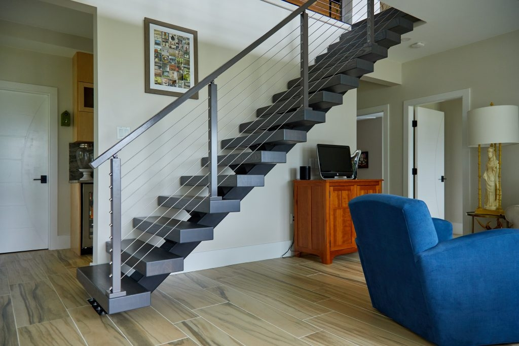 What Are Floating Stairs Viewrail | Home Interior Stairs Design | Wall | L Shaped | Elegant | American | Creative