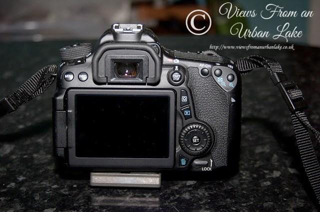 Canon EOS 70D Rear