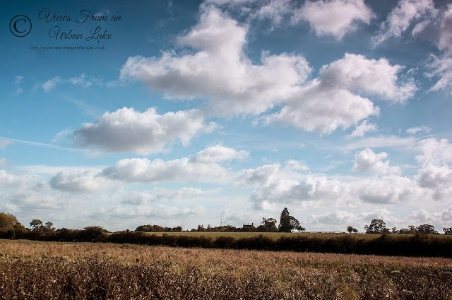 Just a reminder of what blue sky looks like Manor Farm, Wolverton, Milton Keynes