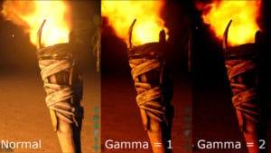 Gama Düzeltme-Normalden Gama'ya