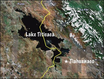 Image result for lake titicaca + great flood