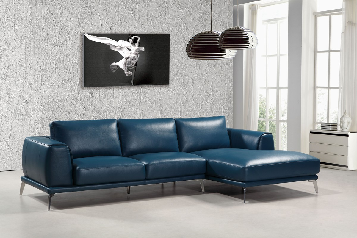 blue leather sofa canada comfortable affordable sectional zef jam