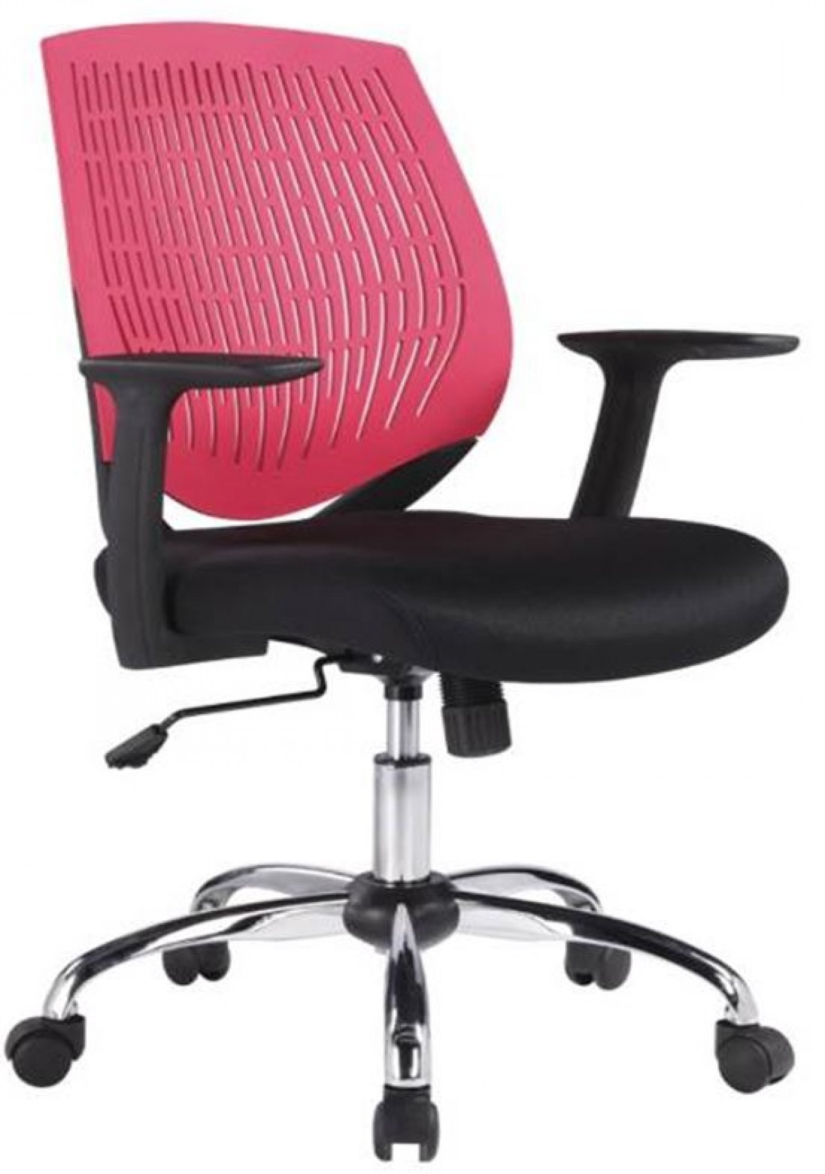 red and black chair how to repair a glider rocking modrest prime modern office