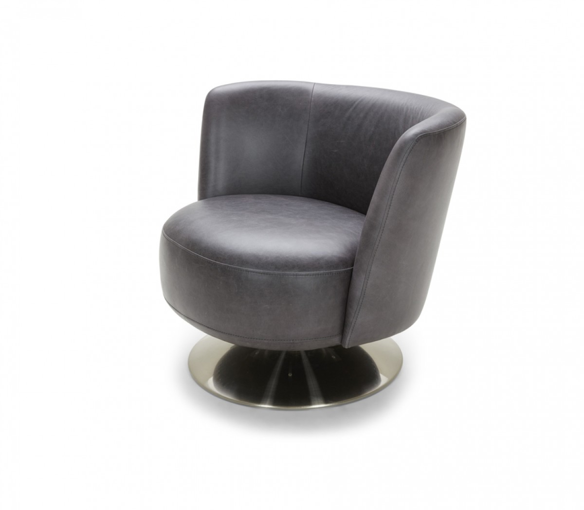 modern leather accent chairs pet chair covers australia divani casa jill grey eco