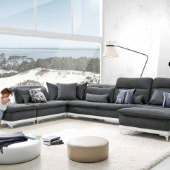Grey Modern Armchairs Wooden Chairs Wedding David Ferrari Horizon Fabric Leather Sectional Sofa Gallery Image 51 66