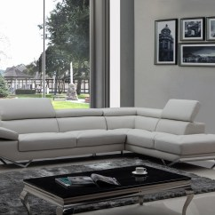 Sofa Versus Couch Rooms To Go Reclining And Loveseat Divani Casa Quebec Modern Light Grey Eco-leather Sectional ...