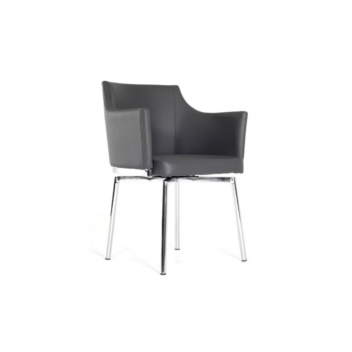 modern gray dining chairs outdoor chair plans modrest kaweah grey