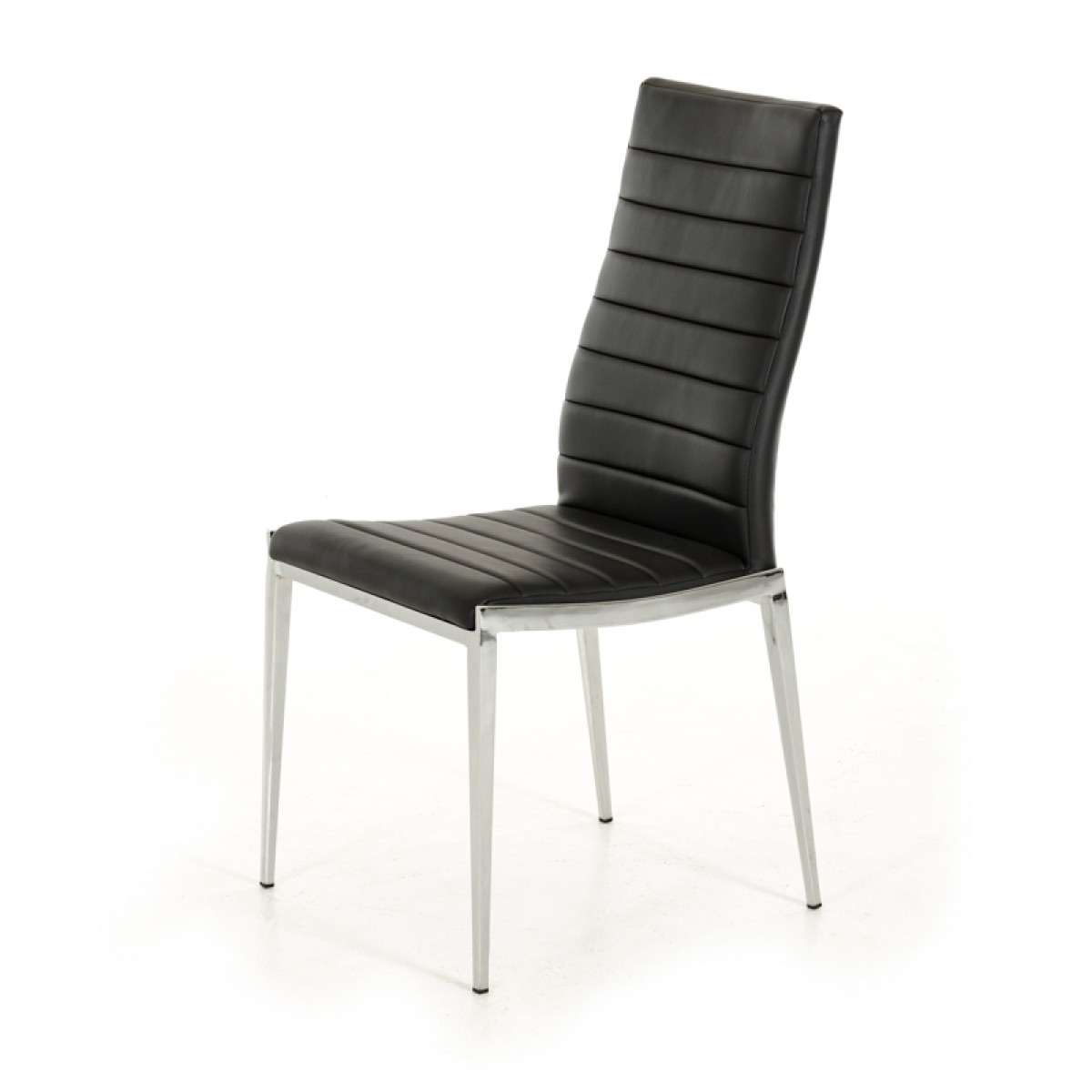 modern black chair set patio chairs lowes libby leatherette dining of 2