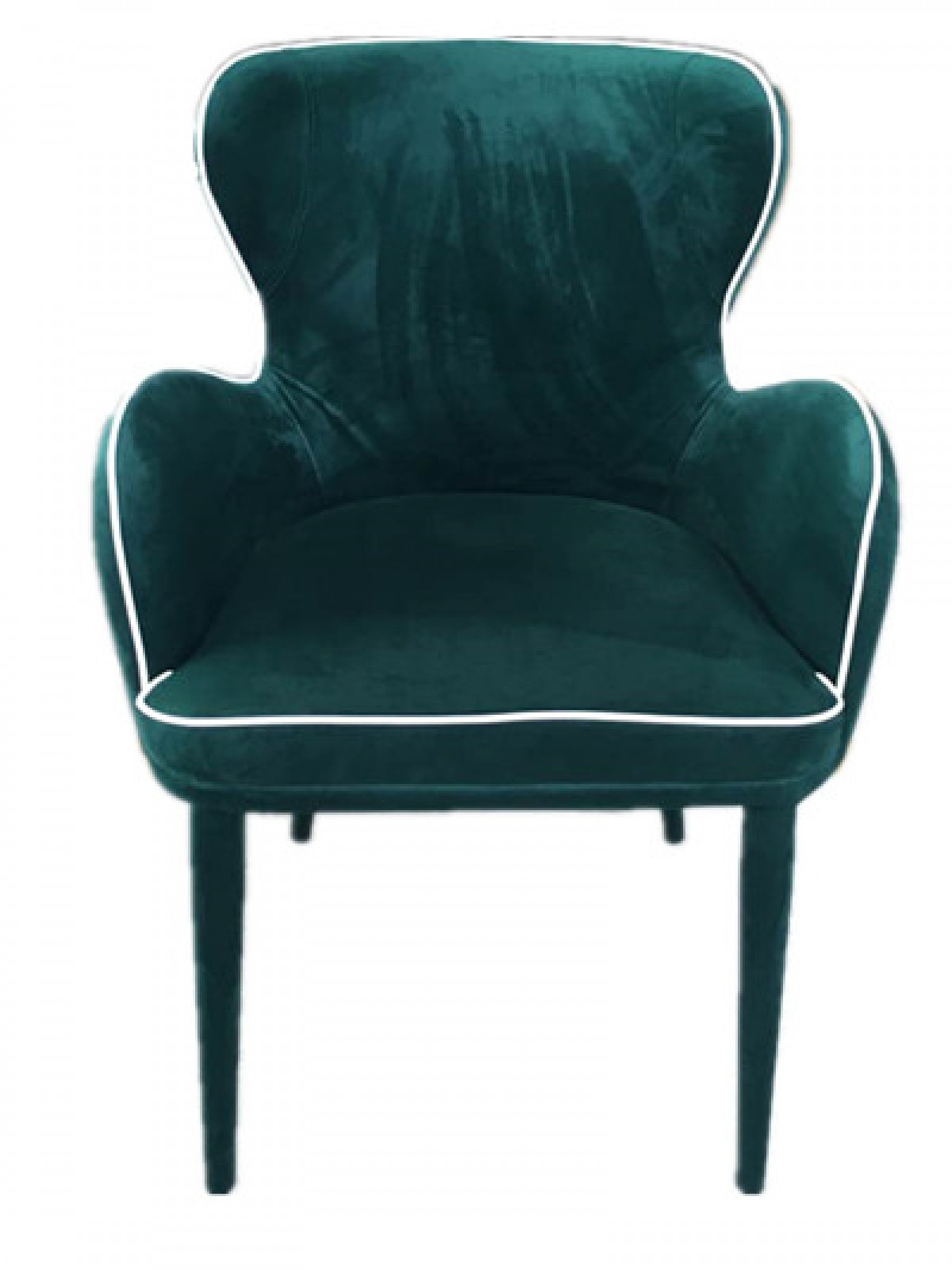 modern green dining chairs red salon modrest tigard fabric chair