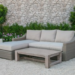 Outdoor Furniture Sleeper Sofa Beige Sectional Sofas Renava Seacliff Wicker Set