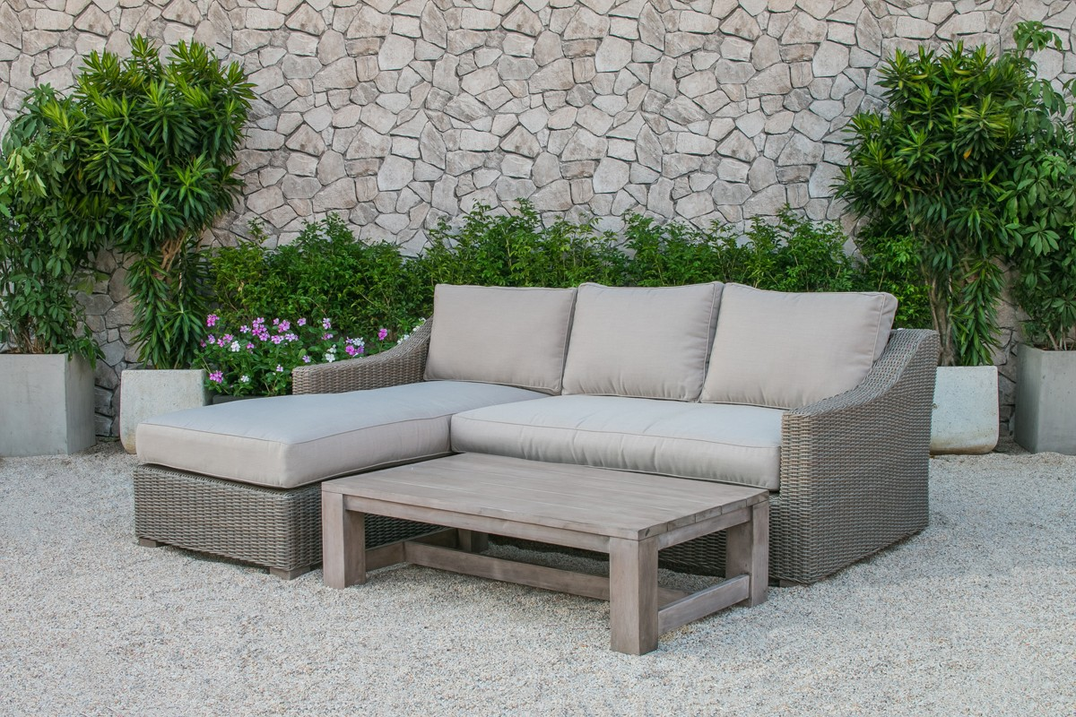rattan outdoor sofa mid century style renava seacliff wicker sectional set