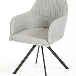 Grey Dining Chairs White And Gold Chair Modrest Synergy Modern Fabric