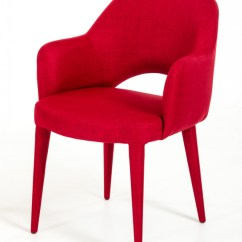 Red Counter Height Dining Chairs Walmart Folding Camping Modrest Williamette Modern Fabric Chair