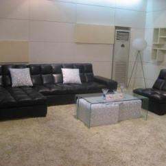 Huge Italian White Leather Modern Sectional Sofa Set Nail Head Trim Furniture Sacramento - For Your ...