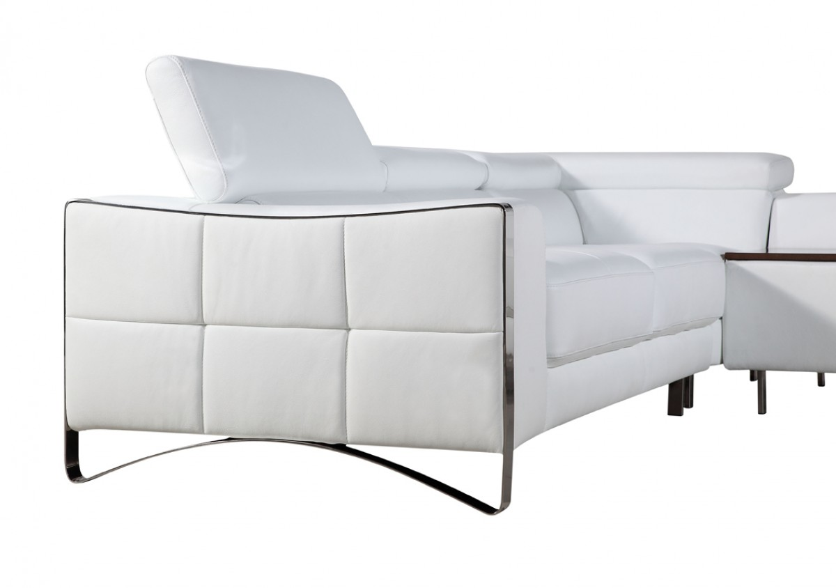 polo divani contemporary leather recliner sofa transitional style sectional sofas casa arles modern white