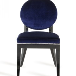 Navy Blue Dining Chairs Set Of 2 Childrens Table And Chair Isabella Modern