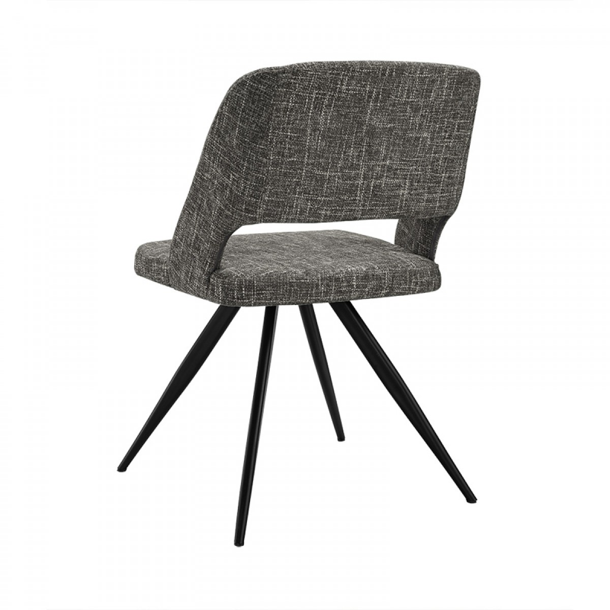 modern gray dining chairs patio target palmer grey fabric chair set of 2