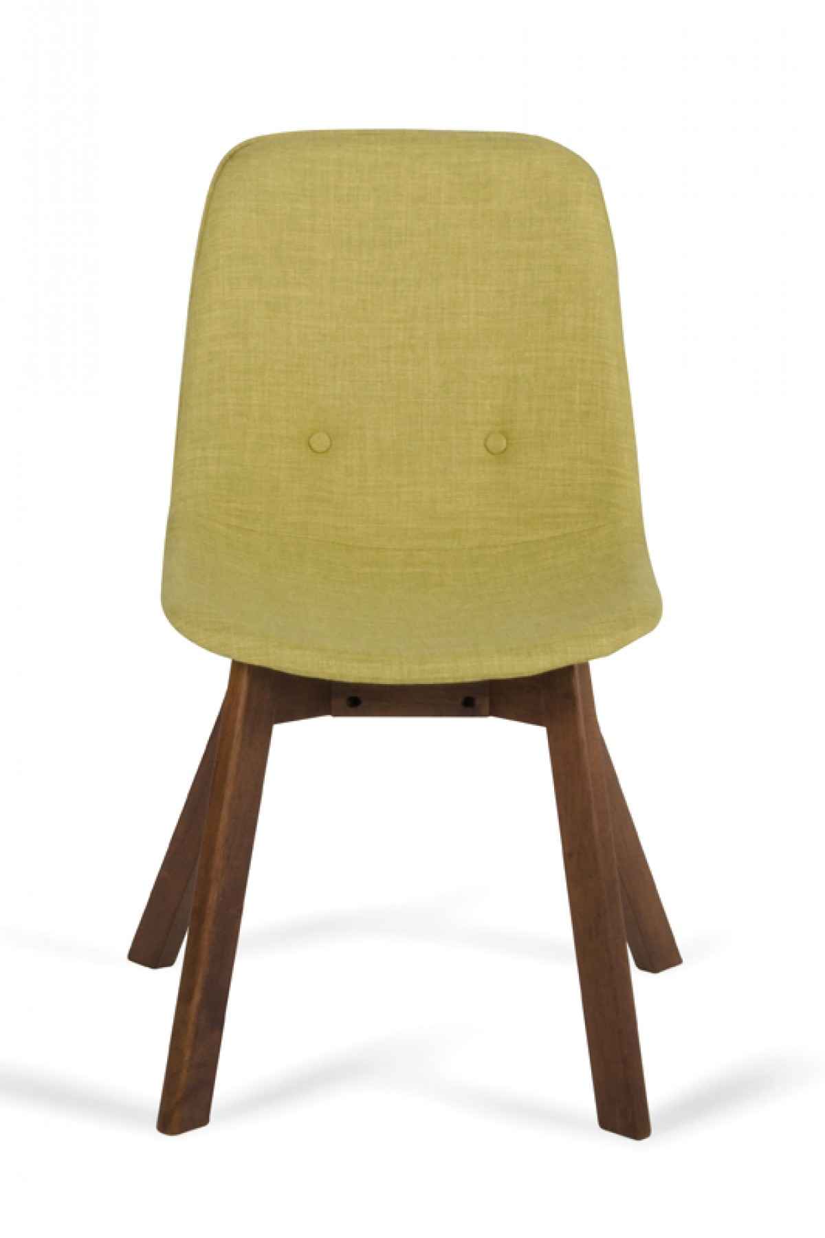 modern green dining chairs wedding chair covers in surrey laken tea and walnut set of 2