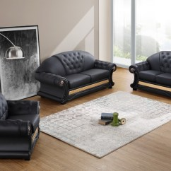 Casa Italy Sofa Bed Next Leather Sofas And Chairs Divani Cleopatra Traditional Black Set