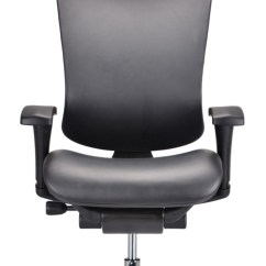 Modern Black Leather Desk Chair Hanging Craigslist Modrest Watson Office
