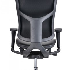 Modern Black Leather Desk Chair Van Captain Chairs Modrest Watson Office