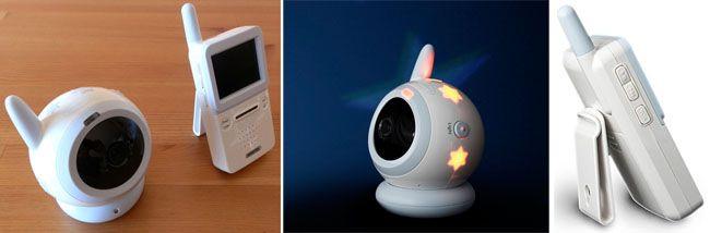 Camara vigilabebes y monitor - luz de noche - inalambrico