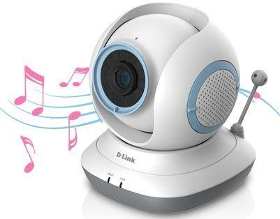 D-Link DCS-855L EyeOn Baby Monitor HD 360, una cámara ip motorizada vigilabebés