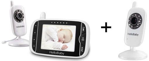 Pack Completo: HelloBaby HB32 + cámara adicional