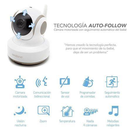 Vigilabebes Availand Auto Follow funciones
