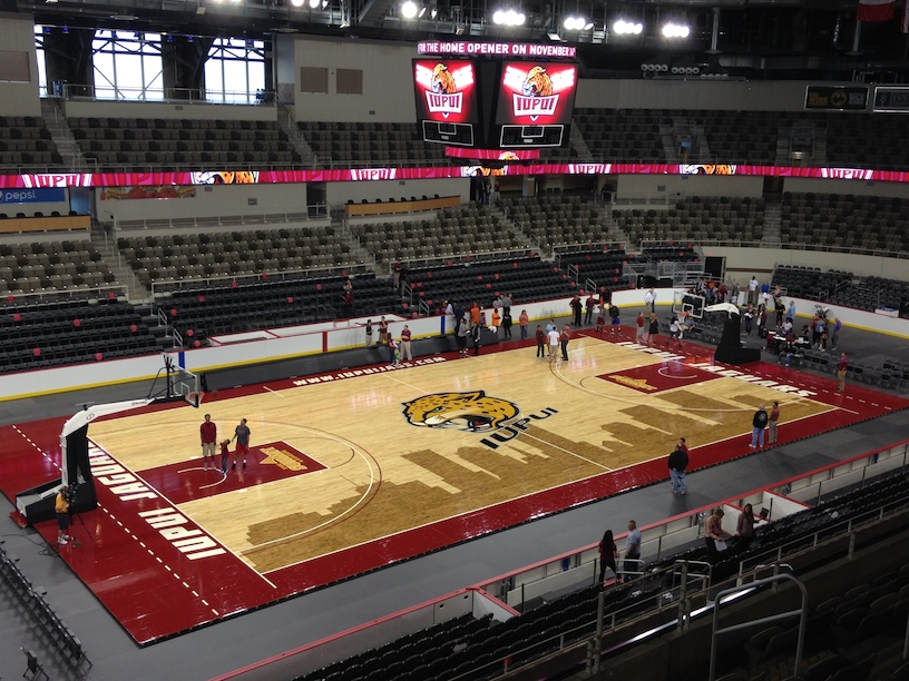 Photos Iupui Men S Basketball At The Fairgrounds Coliseum