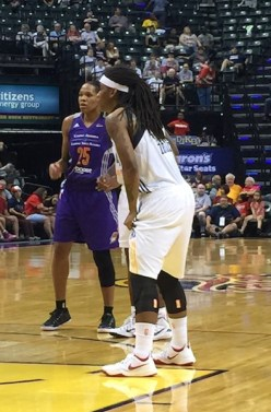 Zellous has averaged 9.3 points and 2.7 rebounds per game over her seven-year career.