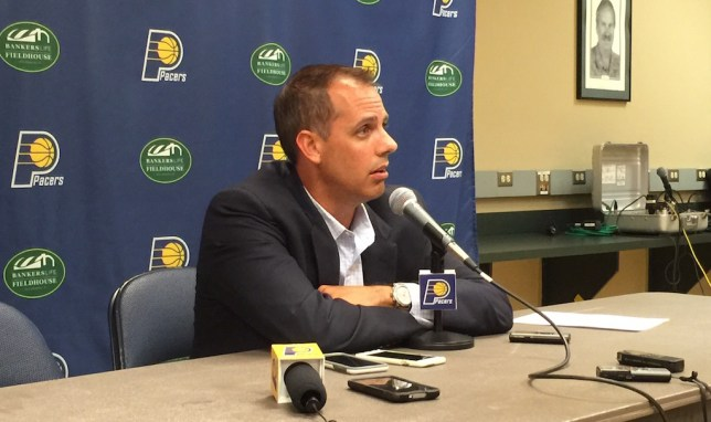 Frank Vogel was the head coach of the Pacers from January, 2011 to May 5th.