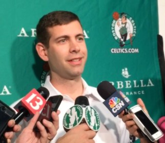 Stevens led the Celtics to the 7th seed in the East last year —just his second season as an NBA head coach.