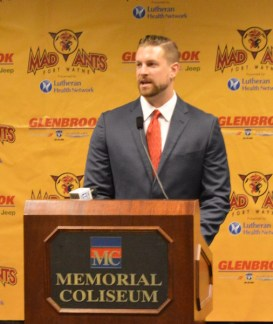 Gansey has previously worked alongside the Pacers — during Summer League play. [Photo provided by the Mad Ants]