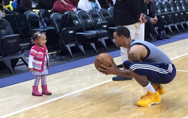 Completing his eighth NBA season, George Hill is averaging 12 points and 3.5 assists per game
