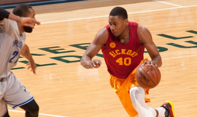 GRIII signed with the Pacers in July, 2015.