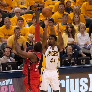 Solomon Hill is shooting 61 percent from outside in this series. [Frank McGrath/PS&E]