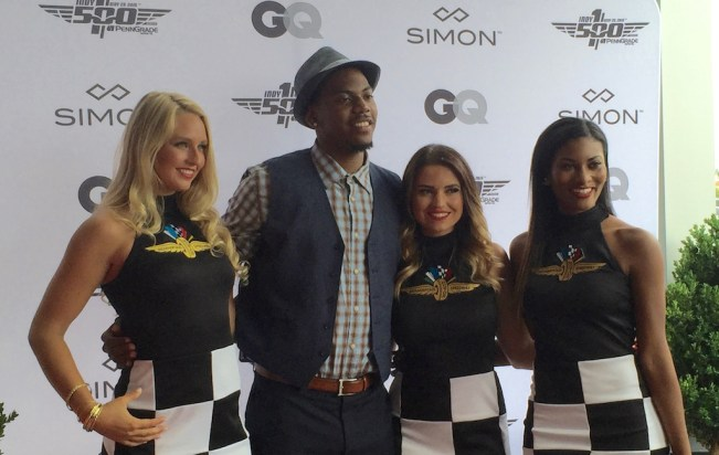 Glenn Robinson III took part in a GQ-Indy 500 fashion show in May.