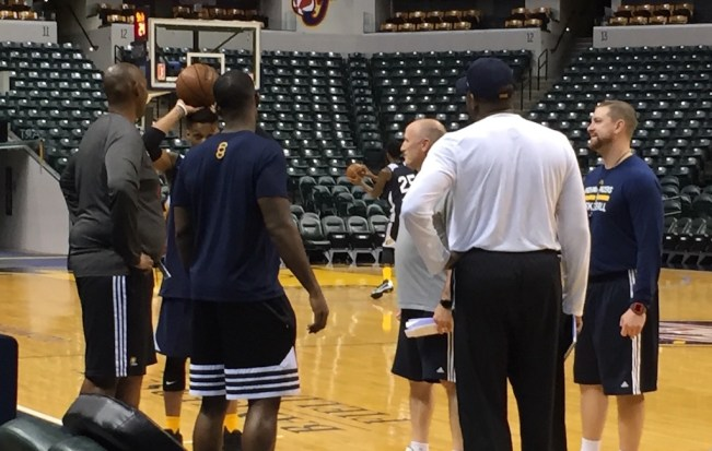 Popeye Jones will head up the Pacers' Summer League team.