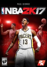Here's Paul George on the cover.