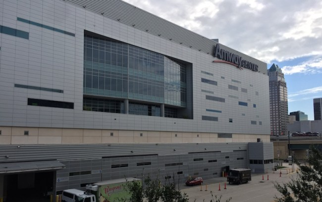 The Amway Center hosts the annual Orlando Summer League.