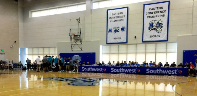 The Amway Center is home to the annual Orlando Summer League.