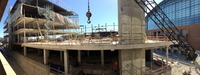 The latest photo updates on the St. Vincent Center.