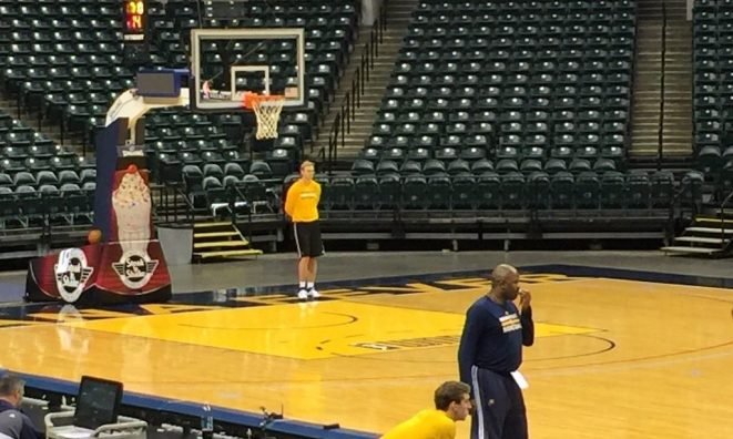 Bartling was added to the Pacers' video department.