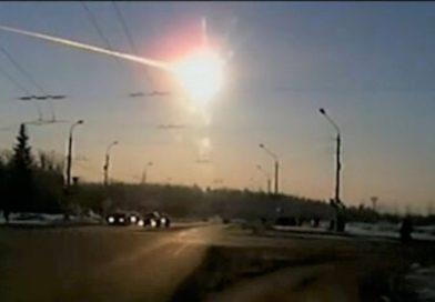 Um meteoro caiu sobre a cidade russa Chelyabinsk