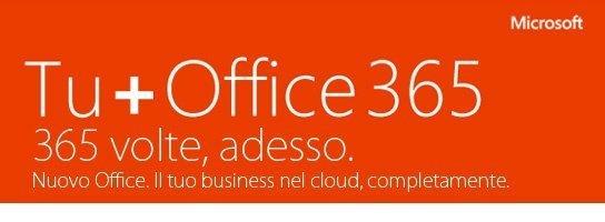 Lancio Nuovo Office 365