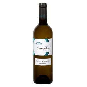 Bouteille de vin blanc C Cantelaudette réserve
