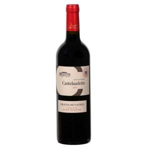 Bouteille de vin rouge C Cantelaudette sans soufre